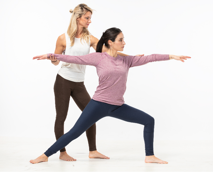 אימון יוגה לנשים