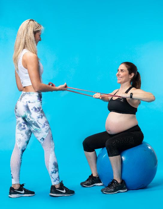 אימון נשים בהריון